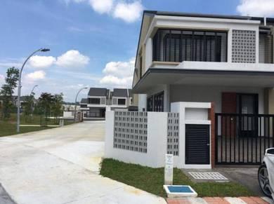 [corner lot] double storey elmina green saujana utama sg buloh