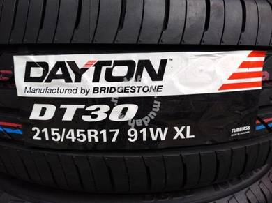 215/45/17 Dayton DT30 Tyre Bridgestone 2019 Tayar