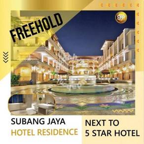 The Best Investment Project Freehold Hotel Suite In Subang Jaya, KL
