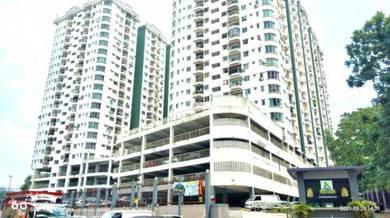 Facing Swimming Pool Kepong Sentral Condominium
