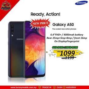 New Samsung Galaxy A50 [ 6 128GB ] Sme Gift