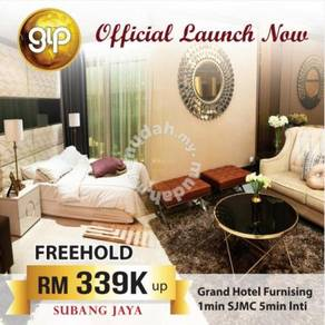 Subang Jaya Freehold Hotel suite The best Investment Project