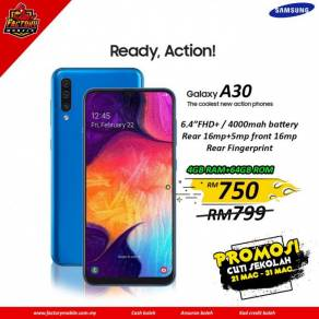 Samsung galaxy A30 [ 4+64GB ] New SME set