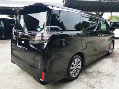 LELONG EMCO 2017 Toyota VELLFIRE 2.5 GOLDEN EYES