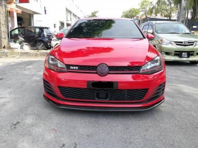 VW Golf GTi MK7 Front Carbon Lip Bodykit
