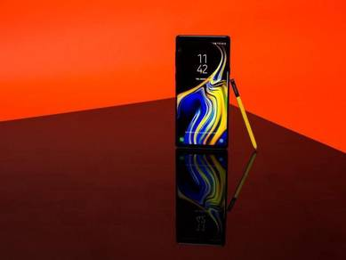Samsung Galaxy Note 9 (6/128GB)MYset-SET BARU