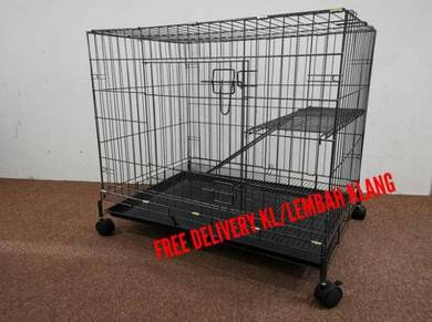 Cat cage / Sangkar kucing (1 tingkat BESAR )