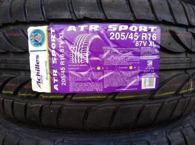 205/45/16 Achilles ATR Sport Tyre 2019 Tayar