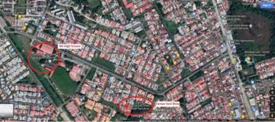 Taman Seni Bina intermediate terrace near KK Highschool, Panampang