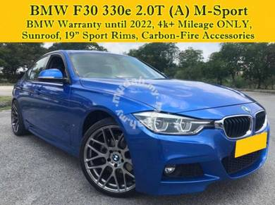 BMW 330e 2 0 M SPORT (A) F30 LCI Under Warranty