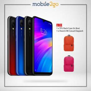 Xiaomi Redmi 7 [16GB/32GB] MY Set + Gift