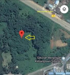 16 1/2th Mile Mixed Zone Land For Sale(near SMK Kebangsaan Siburan)