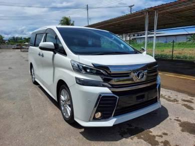 Toyota VELLFIRE 2.5L (A) Z-SPEC