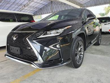 Lexus RX300 2.0 F-SPORT YEAR 2018, GRADE 5/A
