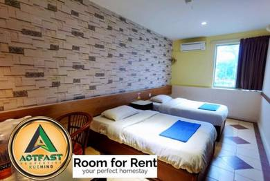 Hotel style room for rent with no deposit no utilities