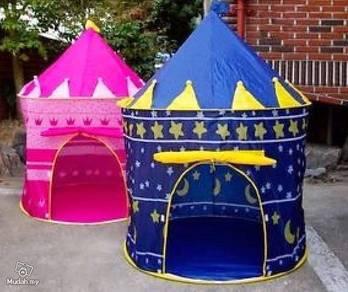 Tent kanak2 castle pink