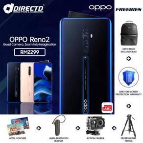 OPPO Reno 2 (8GB RAM/256GB ROM | 20X ZOOM)BARU