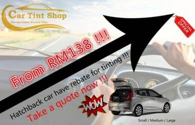 Car Tint Shop Carbon Black Film Promotion