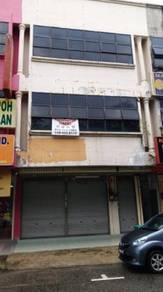 Rumah Kedai 3 Tingkat Di Tepi Jalan Utama, Kulim Untuk Disewa