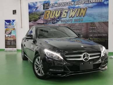 2016 Mercedes C200 SE 2.0 HUD BUY & WIN 5YRS WRTY