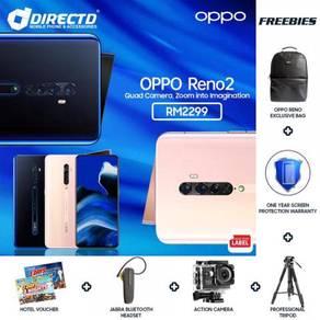 OPPO Reno 2 (8GB/256GB   20X ZOOM   4 KAMERA BLKG)