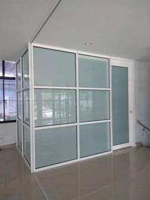 Shop Front/ Tempered Glass Shop Wall (Visa/Master)
