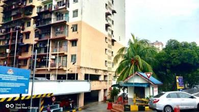 Renovated Flat Sri Nilam Near Hospital Ampang LRT Ampang