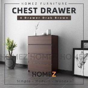 Chest drawer (4 layer siap pos