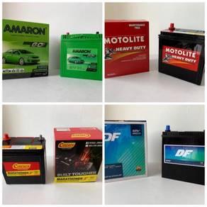 Car Battery Bateri Kereta AMARON CENTURY MOTOLITE