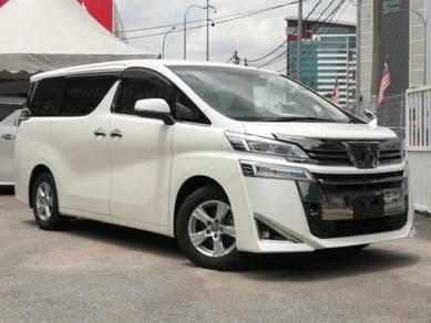 Toyota VELLFIRE 2.5 X (A) 8 SEATER 2018