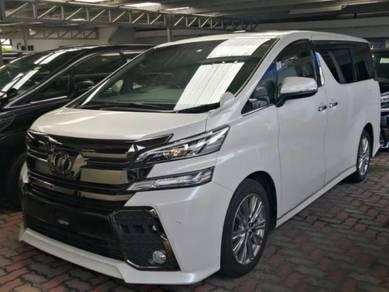 Toyota VELLFIRE 2.5 ZA GOLDEN EYE 2017