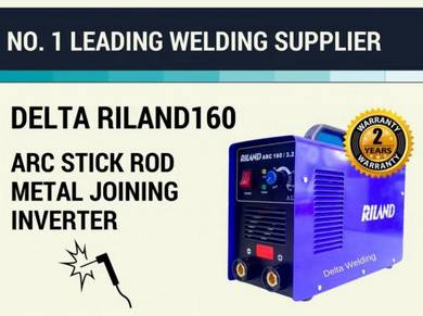 DELTA RILAND 160Amps STICK WELDING MACHINE SET