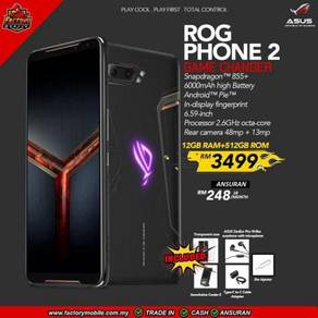 Asus ROG PHONE 2 [12+512] Msia Set + freegift