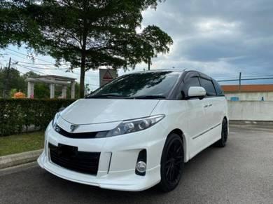 Toyota estima 2.4 areas 2015 fu loan warranty 1 yr