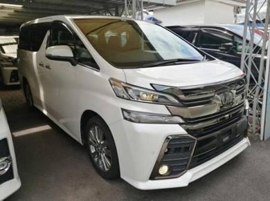 Toyota VELLFIRE 2.5 Z A GOLDEN EYE JBL 2016