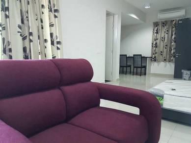 Apartment Univ 360 Place Studio Fully Furnish Condo Seri Kembangan UPM