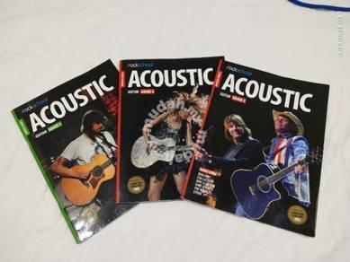 Rockschool Guitar Grade 3 to 5 Exam Books