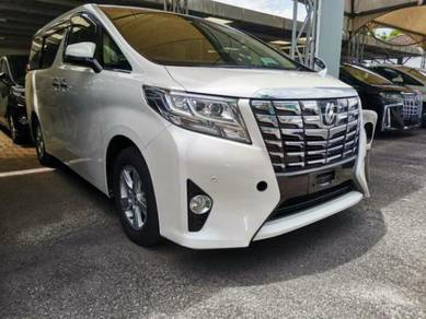 Toyota ALPHARD 2.5 X (A) 8 SEATER 2017