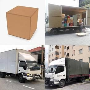 Lori Sewa Transport Movers Kotak Pindah Rumah
