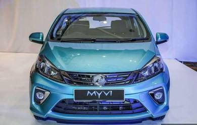 2019 Perodua MYVI 1.3X (A) MAX LOAN & LOW INTEREST