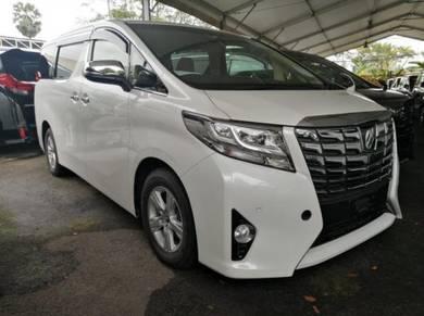 Toyota ALPHARD 2.5 X (A) 8 SEATER 2016