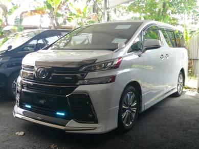 Toyota VELLFIRE 2.5 Z AGOLDEN EYE MODELISTA 2016