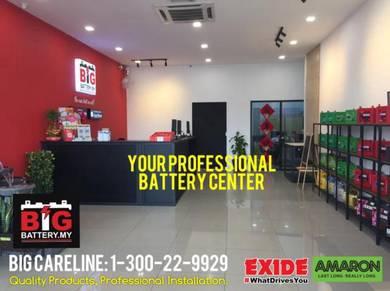 BIG BATTERY AMARON EXIDE Car Battery Bateri PRO