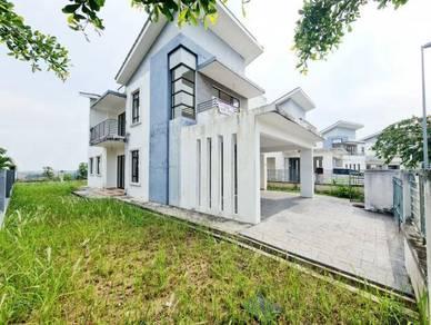 DISKAUN 220K Double Storey Semi D Bukit Saujana TANAH BESAR