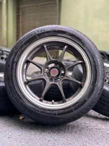 ADVANTI 15 inch sport rim WIRA tyre 70%