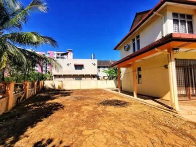 BIG LAND Double Storey Terrace CORNER LOT Taman Desa Anggerik Nilai