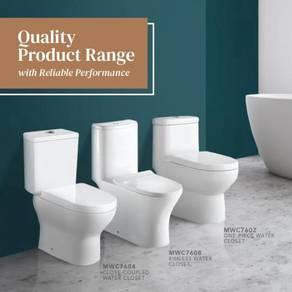 Toilet Bowl Ceramic Tandas Duduk WC(SIRIM Quality)