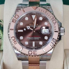 Rolex Yacht-Master 116621 Rose Gold Chocolate 40mm