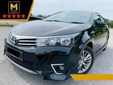 2018 Toyota COROLLA 1.8 ALTIS G FACELIFT (A)
