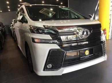 2017 Toyota VELLFIRE 2.5cc NEW OPENING SALE